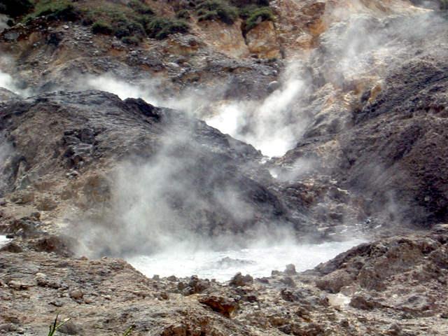 Drive-in-Volcano