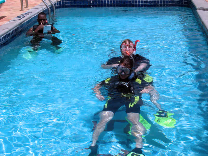 Confined Water (Pool) Skills Session